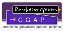 Resolution Options: CGAP website