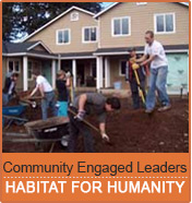 Community Engaged Leaders: Habitat for Humanity