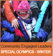 Community Engaged Leaders: Special Olympics Winter Games