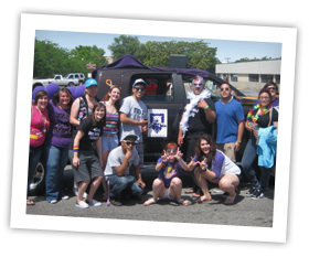 WSU at the pride parade