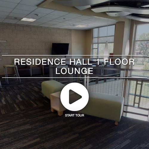 Residence Hall 1 Floor Lounge