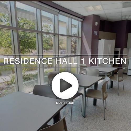 Residence Hall 1 Kitchen