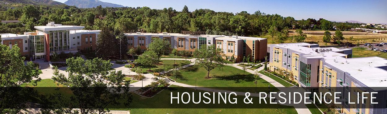 housing & residence life
