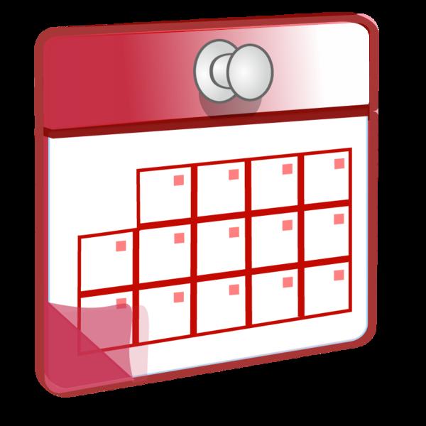 Clipart of calendar