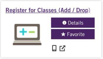 Register For Classes App