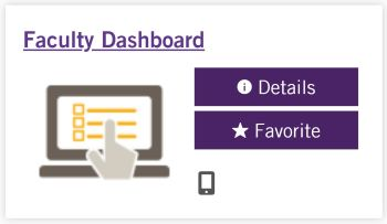 Faculty Dashboard