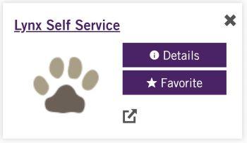 Lynx Self Service App