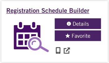 Registration Schedule Builder App
