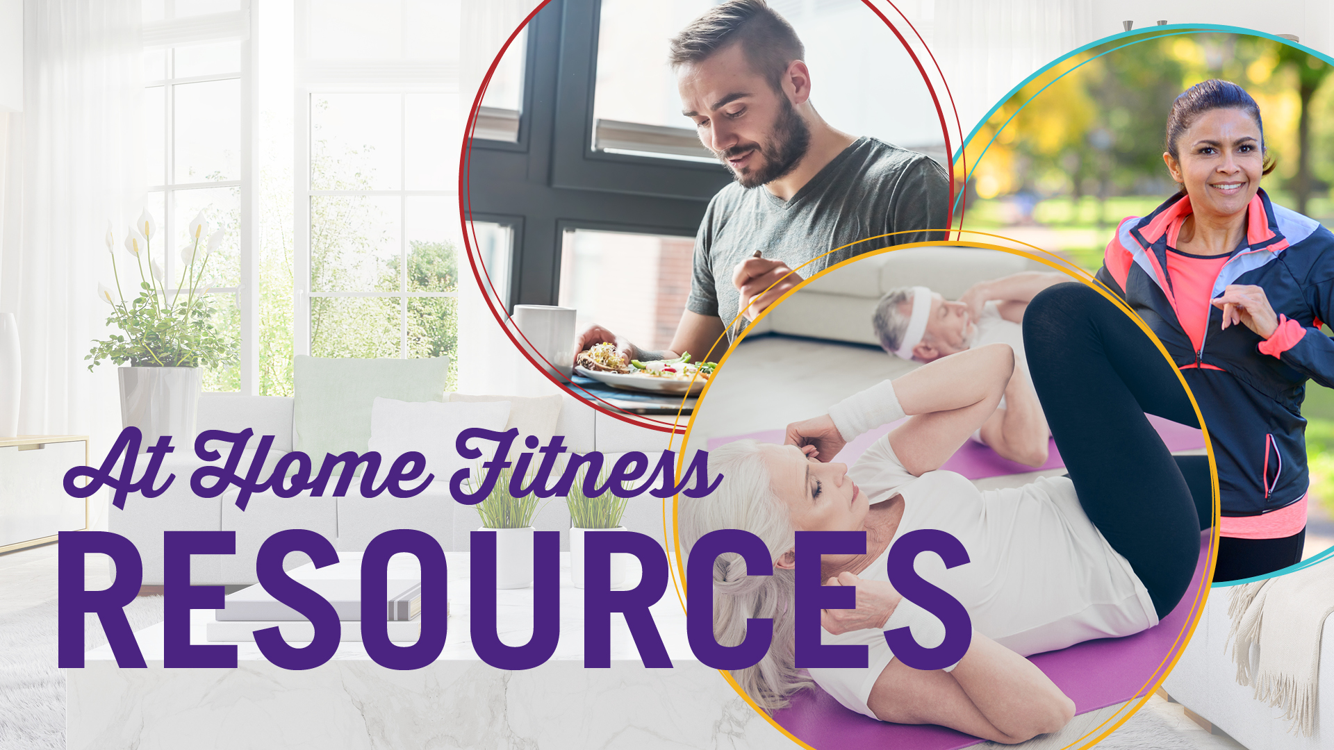 at home fitness resources