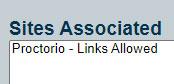 links allowed