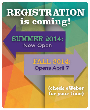 Summer/Fall Registration