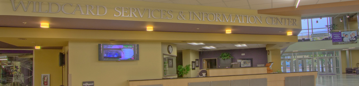 Wildcard Services and Information Center Desk