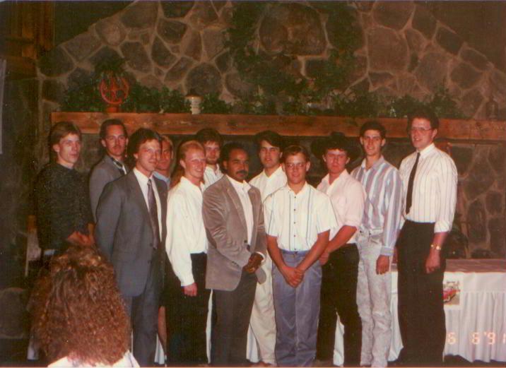 1991 graduation class group photo