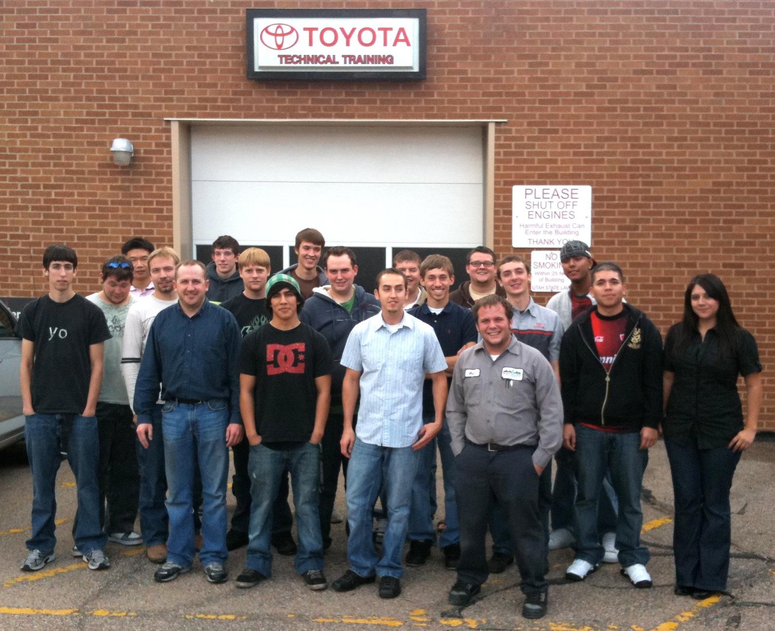automotive class 2011 group photo