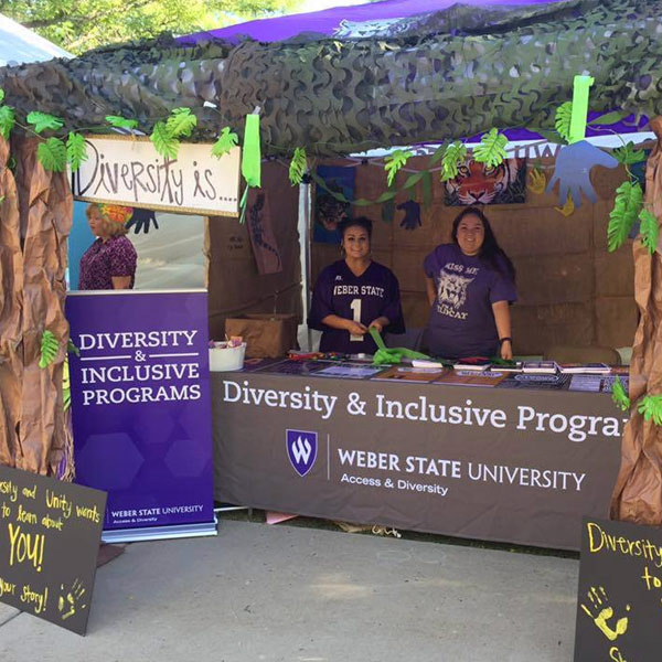 diversity & inclusive programs booth