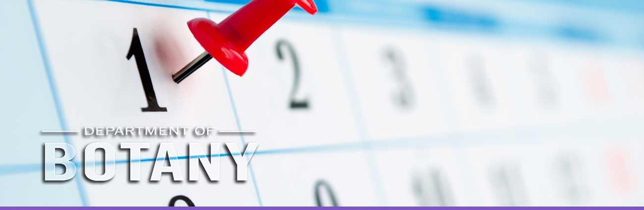 botany calendar