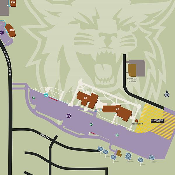 Davis Campus Map