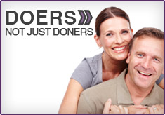 Doers not just doners