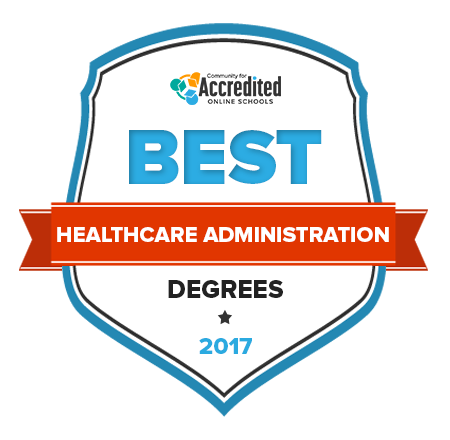 Community for Accredited Online Schools Best Healthcare Administration Degrees
