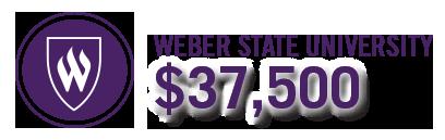 Weber State University $37,500