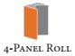 4-Panel Roll