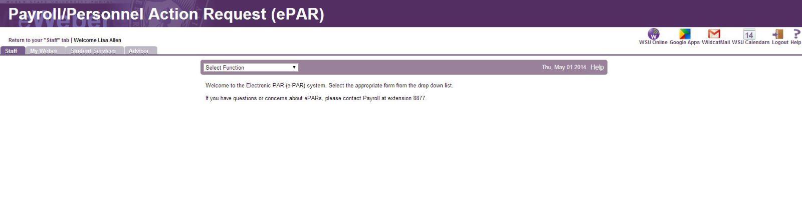 ePAR example one