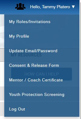 consent form screen shot