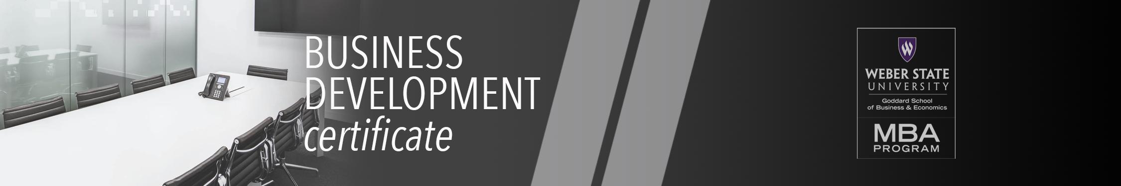 Business Development Certificate