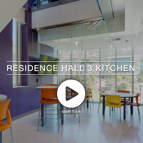 Residence Hall 3 Kitchen