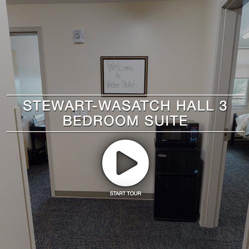 Stewart Wasatch Hall 3 Bedroom Suite