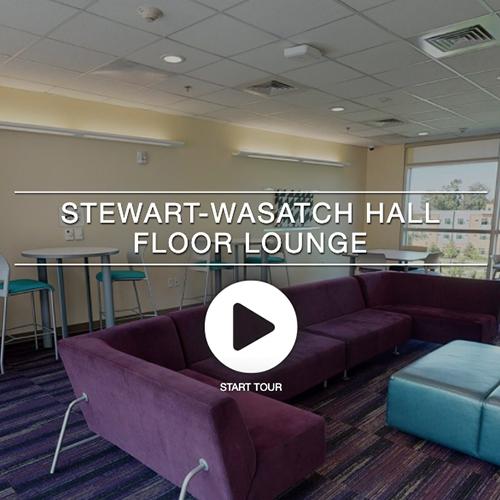Stewart Wasatch Hall Floor Lounge
