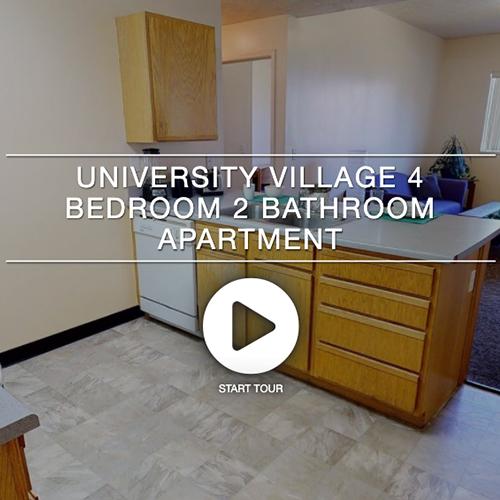 University Village 4 Bedroom 2 Bedroom Apartment