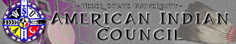 Weber State University American Indian Council logo
