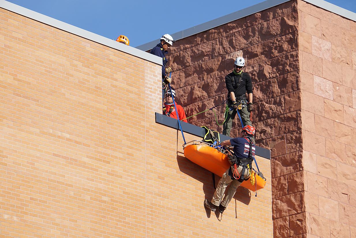 rooftop training