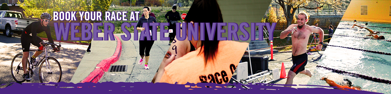 book your race at Weber State University