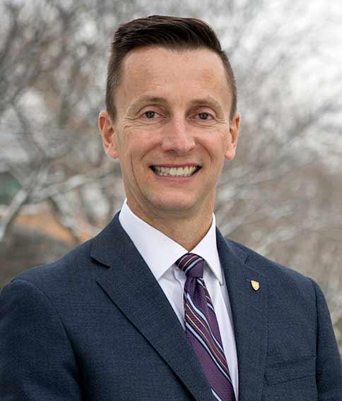 Weber State University President Brad Mortensen