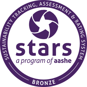 An AASHE STARS Bronze Rated School