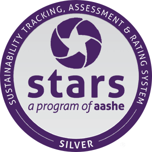 An AASHE STARS Silver Rated School