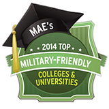 Military Friendly College and Universities Logo