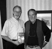 Photo of N. Colwell Snell with Stephen Dunn.